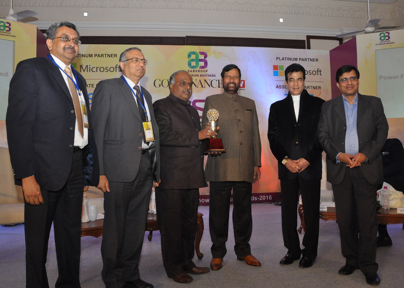 PFC conferred with the 'Governance Now PSU Award 2016'