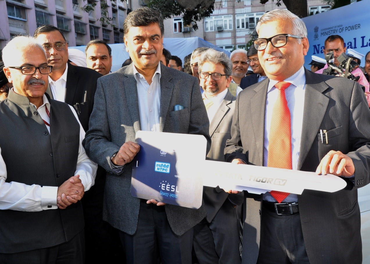 National Launch of Electric Mobility Programme organised by Ministry of Power