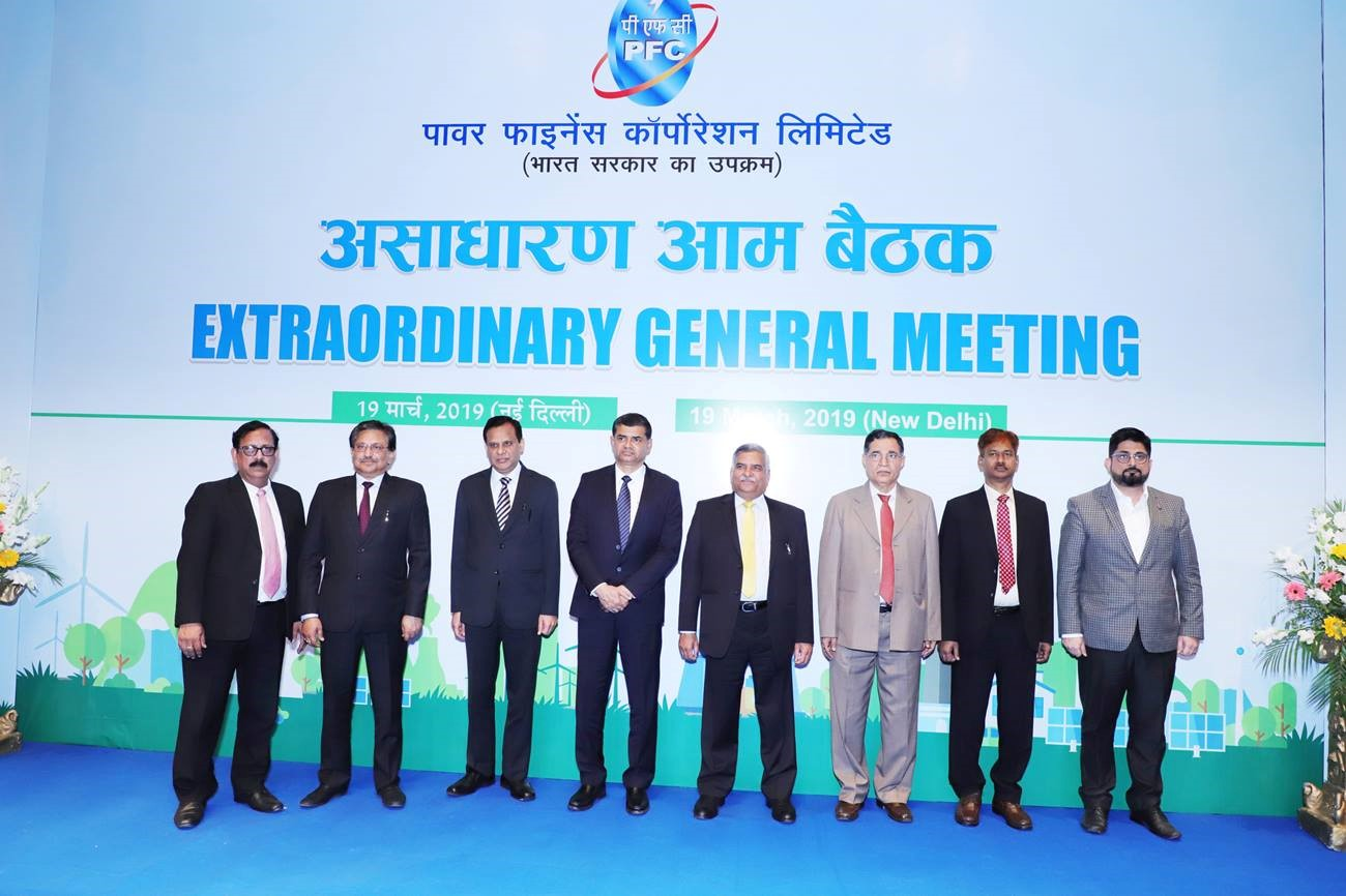 PFC's Extraordinary General Meeting