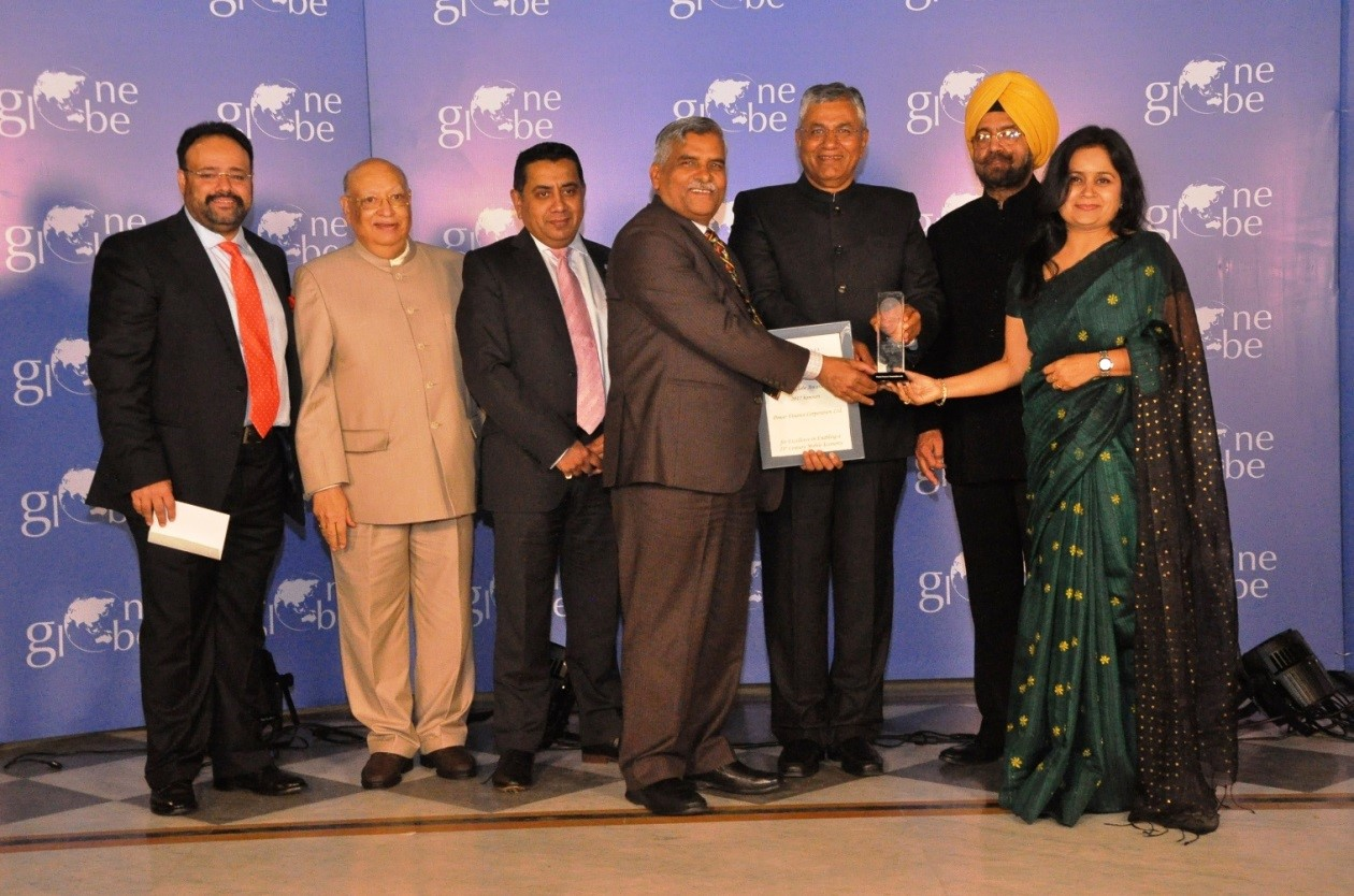 "PFC conferred with the ""One Globe Award for Excellence in Enabling a Mobile Economy"" for URJA App"