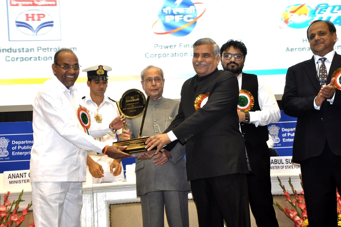 PFC conferred with SCOPE Meritorious Award for Good Corporate Governance